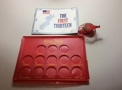 Franklin Mint 1969 Shell Oil States of the Union 13 Original States NOS