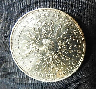 1980 Queen Elizabeth -five shillings/crown