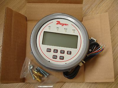 Dwyer Digital Differential Pressure Controller DH3-009 digihelic NEW £249