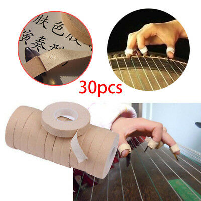 2017 30Rolls 100% Cotton Guzheng Adhesive Tape For Nails Chinese Zither Harp