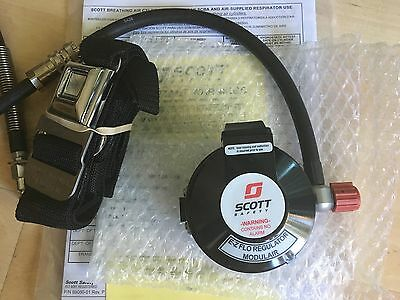 Scott Safety E-Z Flo Regulator with Modulair Quick Connect - NEW -