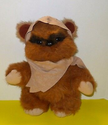 "Vintage Star Wars 1983 Wicket The Ewok Return of the Jedi 15"" Plush Kenner MINT"