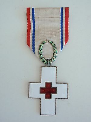 Norway Red Cross Order. Silver/gilt. Very Rare Vf+