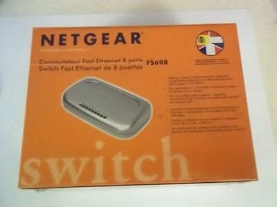 Switch Netgear FS608