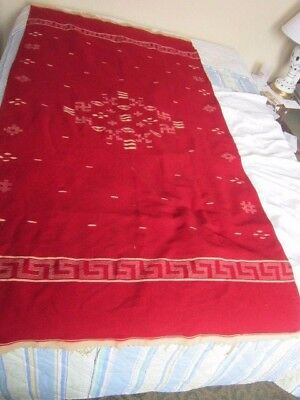 19th C Antique Mexican Native American Rug