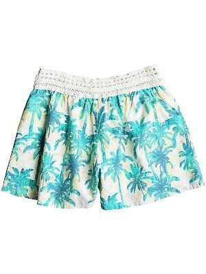 Roxy Girls Short Surf Queens Marshmallow Washed Palm