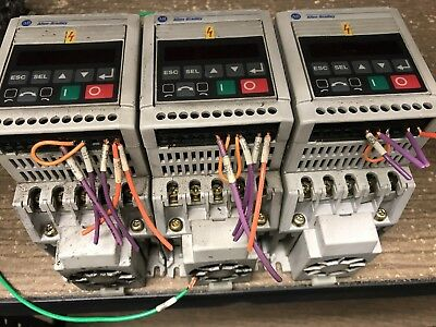 Used Take Out Qty 1 Allen Bradley 160-BA03NSF1 Variable Frequency Drive