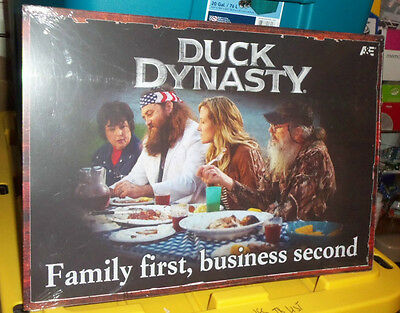 Duck Dynasty Metal Sign- Bnisw  Collectible - From The Popular Tv Show