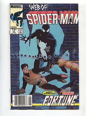 1985 Marvel Web Of Spider-Man #10 Canadian Price Variant Near Mint 9.4