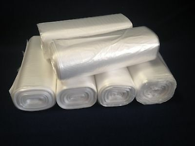 300 Office 6 Mic Trash Bag Liners 24x33  12~15 Gallon - BEST ON MARKET!