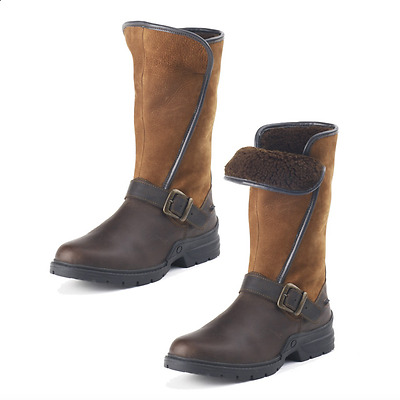 NEW Ovation Blair Country Boots Fleece Lined - Brown - EUR 36,37,38,39,40,41