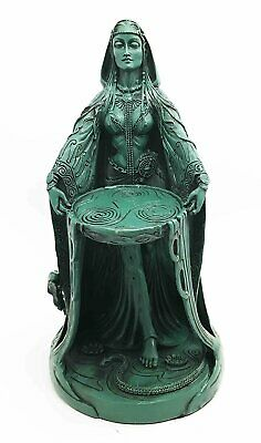 "Danu Mother Goddess of Flowing Waters Celtic Irish Pagan 10"" Statue Figurine"