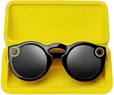 Spectacles by Snap Inc Black Snapchat Smart Sunglasses