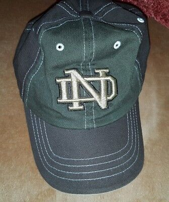 wholesale dealer 5e1b6 1c7ca ... usa factory authentic e04aa 9132c notre dame fighting irish nd hat cap  dad university college ncaa