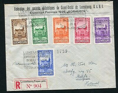 LUXEMBOURG -  Small collection  MH/Cancelled (some MNH)