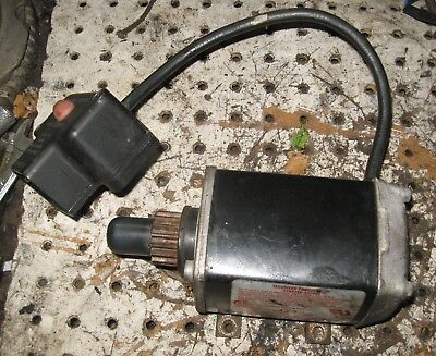 Electric Starter from a 10hp Tecumseh showblower engine