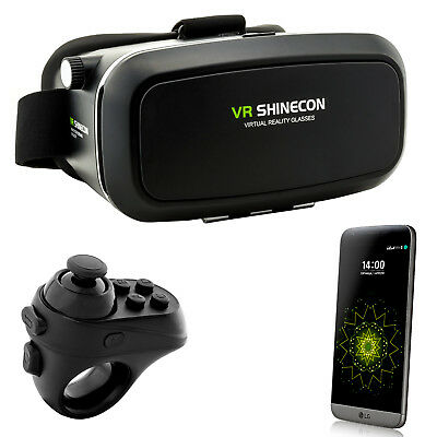 Controller+ 3D VR Video Brille Virtual Reality für LG Q6 G6 G5 SE G4 V10 V20 V30