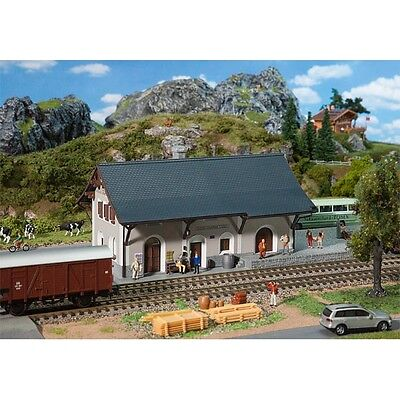 FALLER HO KITSET - STATION 'GUARDA' - gorgeous plastic model # 110126