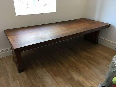 Very Large Antique Library, Boardroom or Dining Table, Art Deco in style
