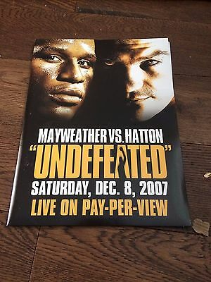 Floyd Mayweather V Ricky Hatton- 8 December 2007- Rare Press Pack