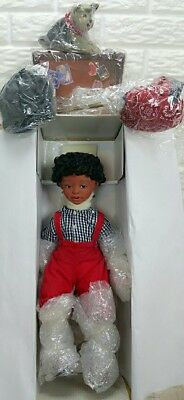 "New! Paradise Galleries Soul Kids Collection Porcelain ""jesse' Doll"