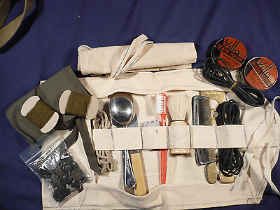 Ww2 British Army Style Soldiers Washroll,ww2 History Resources,soldiers Wash Kit