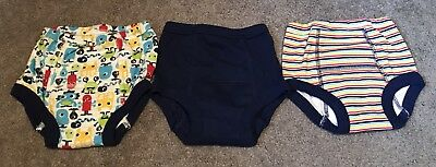 Boy's 2T Okie Dokie Underwear LOT of 3 w/added Padding - New Without Tags