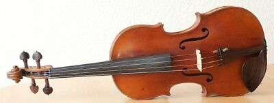 """Very old labelled Vintage violin """"Georges Chanot 1855"""" fiddle 小提琴 ヴァイオリン Geige"""