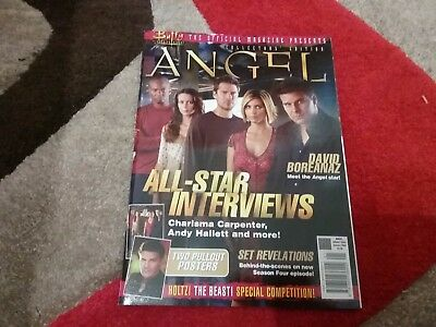Buffy The Vampire Slayer,  Angel Collectors Edition Magazine.  New