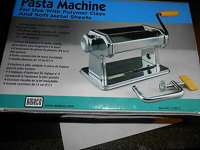 Polymer Clay Pasta Machine----New In Box