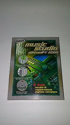 Music Studio De Luxe v 2000 pc Big Box Raro