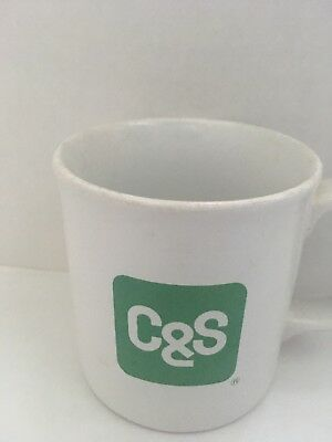 C&S Bank Vintage Coffee Cup