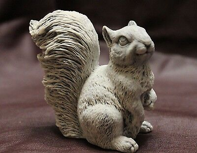 Squirrel, marble sculpture. Souvenir stone handmade from Russia.