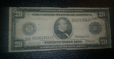 $20 Series 1914 Federal Reserve Note
