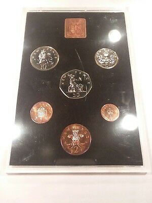 1971 Decimal Coinage Of Great Britain And Northern Ireland Royal Mint Proof Set