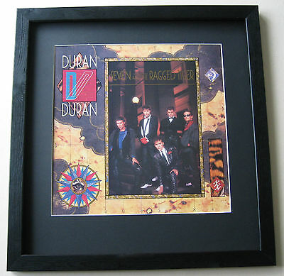 DURAN DURAN Seven and the Ragged Tiger FRAMED ALBUM COVER
