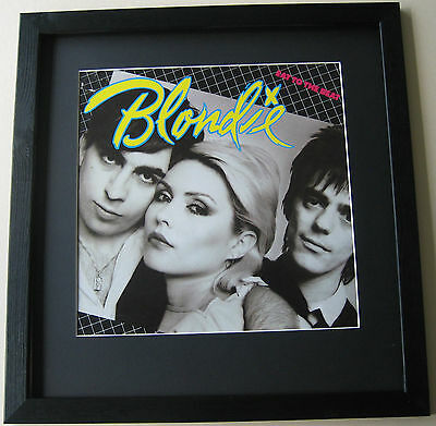 BLONDIE Eat To The Beat FRAMED ALBUM COVER