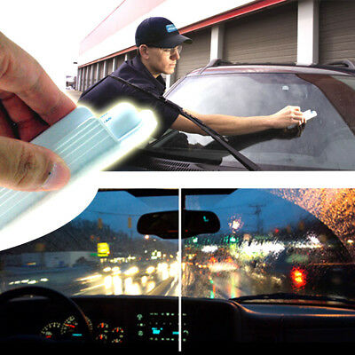 HOT Water Rain Repellent Glass Treatment Clear View Invisible Windshield Wiper