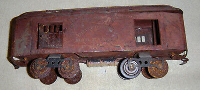 Antique Standard Gauge mail car. Restoration project. No reserve.