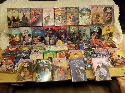 Vintage Silhouette Special Edition Romance Novels - Lot of 40