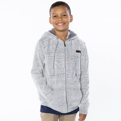 Jacks Boys Anti Hooded Sweat in Grey