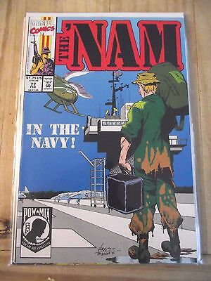 The 'Nam #77 In the Navy Marvel takes on the Vietnam war HTF (1992) FN