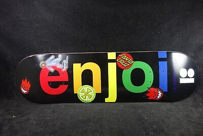 Enjoi Skateboards Deck 8.0 Spitfire Santa Cruz Girl Plan B Independent Grizzly