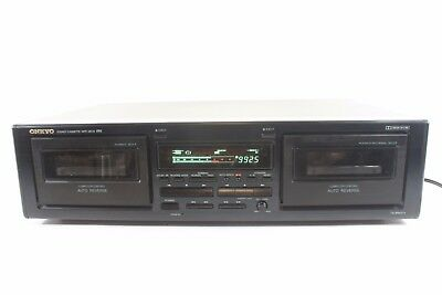 ONKYO TA-RW211, dual cassette deck, comp.controlled auto reverse. (ref A236)