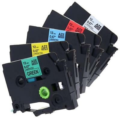 Compatible for Brother TZe-231 TZe-431 TZe-531 TZe731 12mm P-touch Label Tape