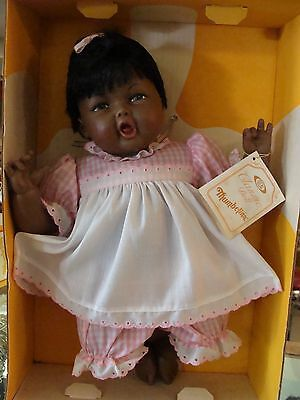 1984 Thumbelina Doll 18 in. African American NRFB Mint All Original Ideal