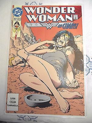 Wonder Woman in Chains vol 2 #67 DC Comics 1992 FN
