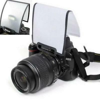 Universal Pop Up Flash Diffuser Soft Screen DSLR Nikon D3100 Canon 450 500 et ^