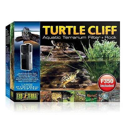 Exo Terra Turtle Cliff Dock with Filter F350