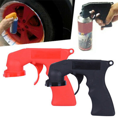 Automotive Aerosol Spray Painting Can Gun Handle With Full Grip Trigger Fad